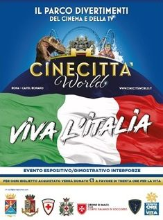 VIVA L'ITALIA A CINECITTA' WORLD