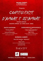 CONSEGUENZE D'AMORE E DISAMORE