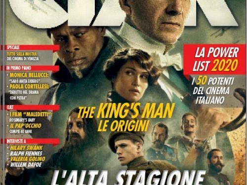 LA POWER LIST DEL CINEMA ITALIANO
